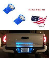 192 194 W5W 168 Xenon Brand New 2 Pcs Blue T10 1-SMD Wedge 5050 LED Light Bulbs