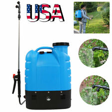 16L Electric Gardening Backpack Sprayer Plants Pump Pest Control Equipment Tool