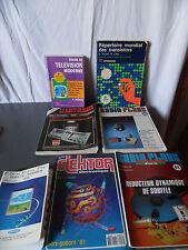 Lot de revues Vintage spécialisées + guides image et son