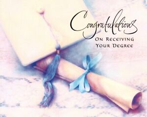 Congratulations Graduation Graduate On Receiving Your Degree Hallmark Card