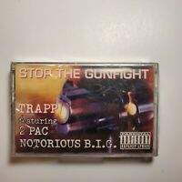 Trapp 2PAC & The Notorious BIG Stop the Gunfight Cassette New Sealed Full Album
