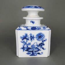 Porcelaine Boîte à Thé Meissen Marcolini à Motif de Bulbes