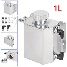 1L Coolant Water Expansion Tank Bottle Header Aluminium Alloy Universal Kit Car