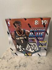 New Listing2019-2020 panini mosaic prizm basketball mega box