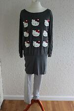 Kombi Leggings Hose F&F + Tunika Shirt Hello Kitty, Gr. 158 164 (13-14 Jh), neu