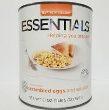 Emergency Essentials Freeze Dried Food Scrambled Eggs and Sausage #10 Can