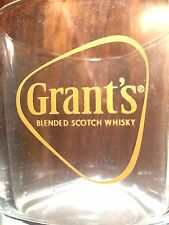GRANT'S SCOTCH WHISKY GLASS BAR BARWARE PUB