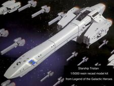 Tristan Resin Starship Model - Legend of the Galactic Heroes - missing parts