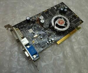 256MB 99-PC29-BA-FS Sapphire ATI Radeon 9600XT-4 DVI VGA AGP Graphics Card / GPU