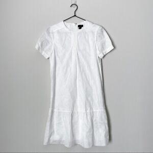 Coach Eyelet Dress Size 0 Lace White 85790 $625