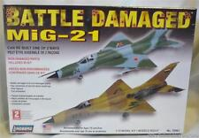 Mig-21 Battle Damaged Jet Fighter 1:72 Model Plane Kit from Lindberg Made In USA