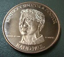 Copper Rounds 6-Pack ~ Rand Paul ~ Lot Of 6 Troy Ounces .999 Fine
