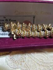 Camrose & Kross Jacqueline Bouvier Kennedy Collection Rhinestone Link Bracelet