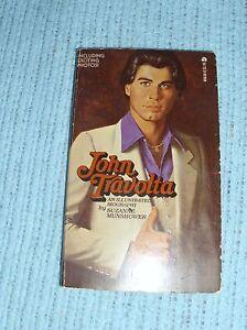 1978 JOHN TRAVOLTA An Illustrated Biography Suzanne Munshower ACE PB