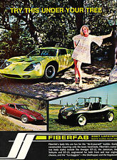 1969 Fiberfab Avenger GT-12 Jamacain - Vintage Advertisement Car Print Ad J389