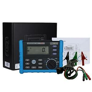 ALP01 RCD Loop Tester Meter trip-out current/time loop resistance with USB USA