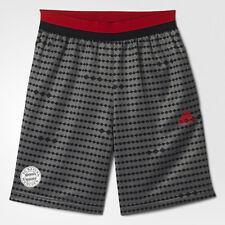 nwt~Adidas BAYERN MUNICH KNIT SWAT Training Soccer Short Pant-Jersey~YOUTHs sz M