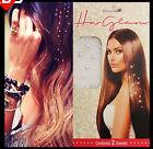 24pcs Iron On Rhinestone Jewels Hair Extension Straightener Diamond Gem Crystals