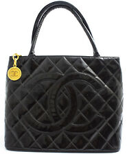 CHANEL MEDALLION TASCHE SCHULTERTASCHE SHOULDER BAG LACKLEDER PATENT LEATHER