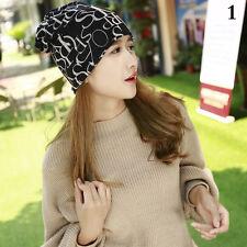 Women Knitted Winter Hats&Scarf Letter Beanies Hip-Hop Skullies Gorros Beanie US