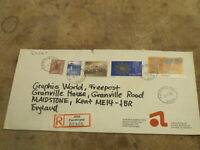 2008 Norway / Norge Envelope / Stamps
