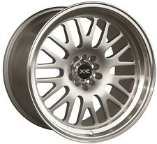 XXR 531 18X9.5 Rims 5x100/114.3 +35 Silver Wheels Aggressive Fits Tc Xb Speed 3