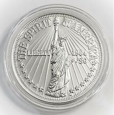 1986 Statue of Liberty - The Spirit of America Baltimore City Mint .999 Fine Sil