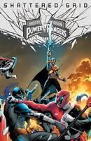 Mighty Morphin Power Rangers Shattered Grid #1 Holofoil Hairsine Var Comic NM