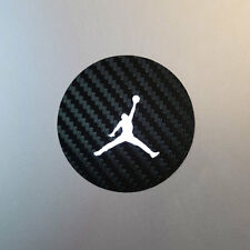 Air Jordan Jumpman MacBook Laptop Decal - Black Carbon Fiber
