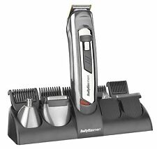 BaByliss System Hair Clipper Trimmer Shaver Beard Body Grooming Kit Set For Men