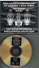 Bob Marley & The Wailers, Sly & Robbie, King Tubby ‎– 40 Gold Dubs 2 CDs 2001
