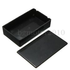 ABS Plastic Electronic Enclosere Instrument Project Box Case 100x60x25mm Black