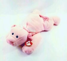 Ty Pillow Pals Oink Pink Pig Plush Stuffed Animal Retired 1994 Swing TAG