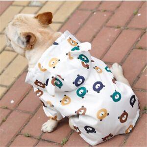 French Bulldog Pug Clothing Pet Products Dog Clothes Rain Jacket Dog Raincoat