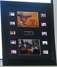 JOHN WAYNE THE SHOOTIST or BRANNIGAN FILM CELL MOUNTS ORIGINAL MOVIE FOOTAGE