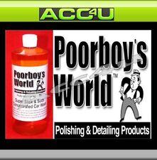 Poorboys World Super Slick & Suds Concentré Lavage Voiture
