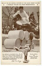 Vintage Figure Ice Skating PC Nestor Johnson Advertising--CHICAGO EXPO 34