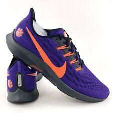 Nike Air Zoom Pegasus 36 Clemson Tigers Men's Sneakers Shoes Purple CI2064 500