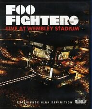 "FOO FIGHTERS ""LIVE FROM WEMBLEY"" BLU RAY NEW+"