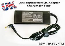 For Sony Vaio VGP-AC19V2 Replacement Laptop AC Adapter Ccharge 92W 19.5V 4.74A