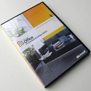 Microsoft Office Professional Edition 2003, 269-06738, Full UK CD Retail box