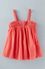 Mini Boden 'Floaty Broderie' Tank , Girl Size 3-4Y ~NWT~
