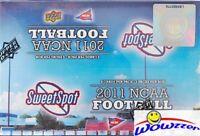 2011 Upper Deck Sweet Spot Football Factory Sealed HOBBY Box-4 AUTOGRAPH