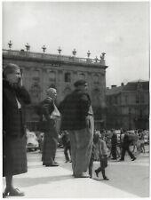Gert Mähler, Passanten, (Nancy, Musée des Beaux-Arts), Original-Foto um 1960