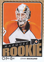 09/10 O-PEE-CHEE OPC ROOKIE RC #769 JOHAN BACKLUND FLYERS *21599