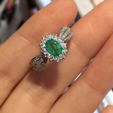 Natural Emerald Ring, Emerald Ring, Emerald Jewelry, Emerald Jewellery