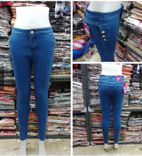 7 BUTTONS HIGH WAIST JEANS SIZE 32