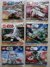 LEGO Star Wars Brickmaster - 6 Rare Sets - 20009 20010 20016 20018 20019 20021