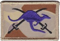 Army Australia SECDET 11 Iraq Deployment Patch hook backing