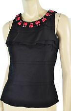 NWT WHITE HOUSE BLACK MARKET CONVERTIBLE NECKLACE DRESSY TOP 4